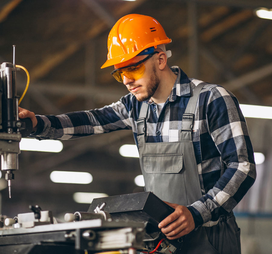 Our industrial software solution helps you manage and track the in's and out's of your business