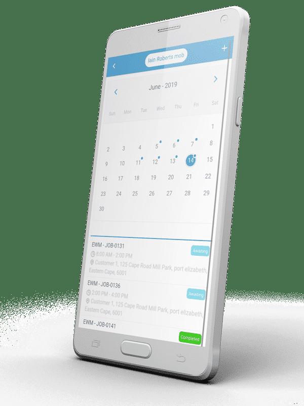 Calendar Schedule App