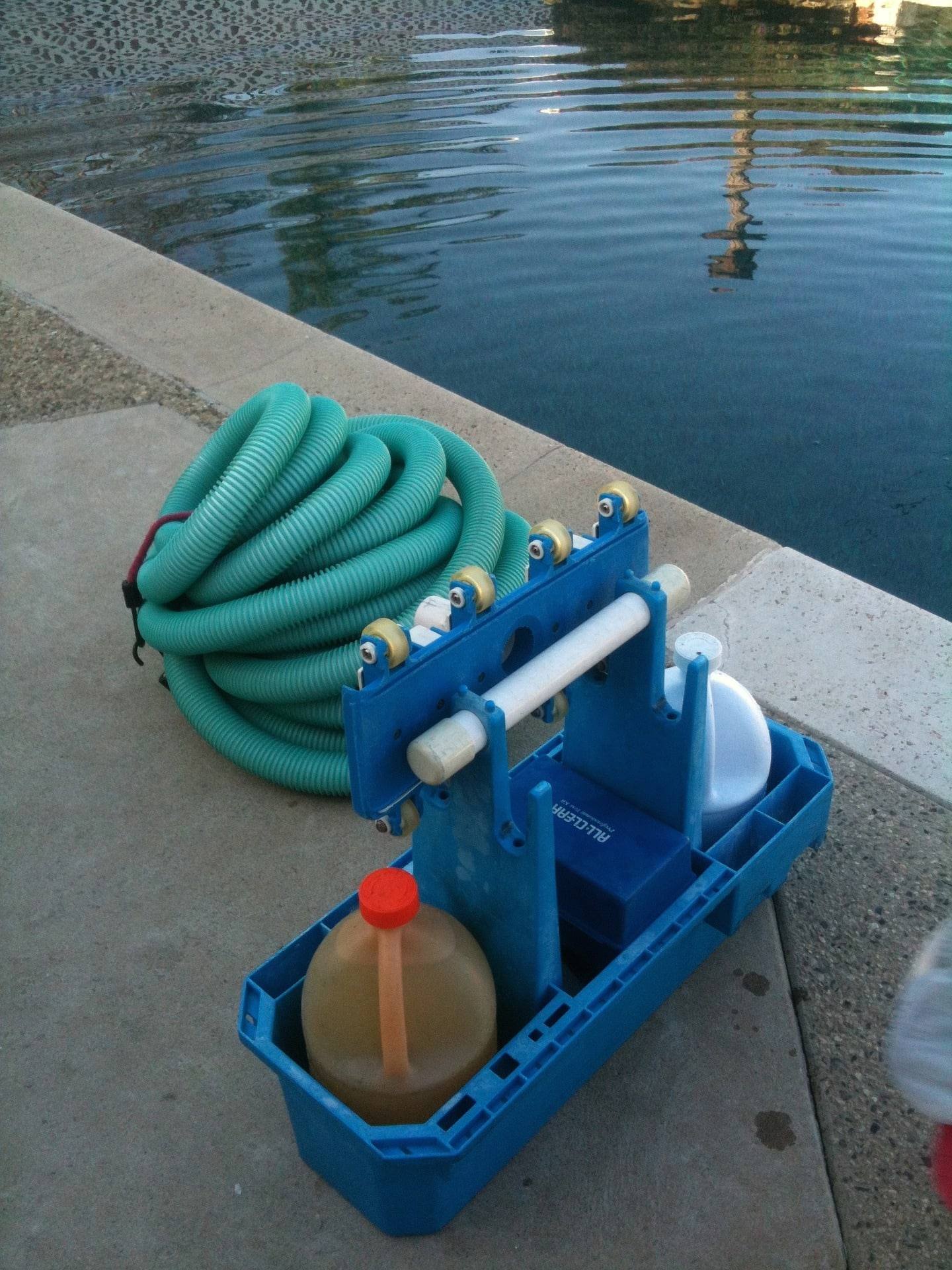 Manage jobs with pool maintenance software