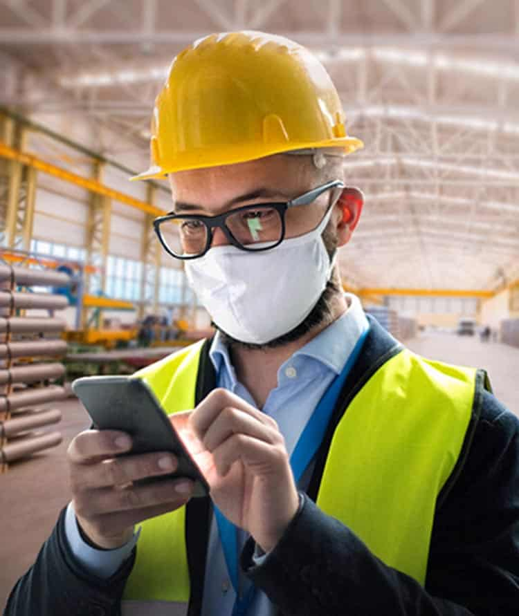 Your Mobile Workers have access to all of their jobs via our MobileApp