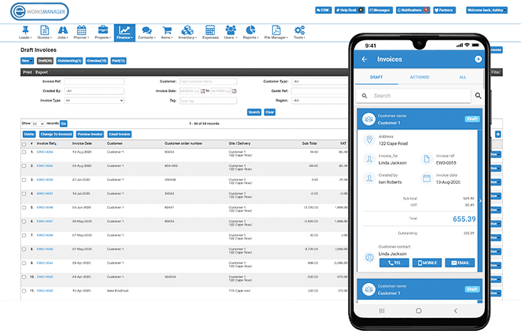 Mobile Invoices - Create and send invoices on the go