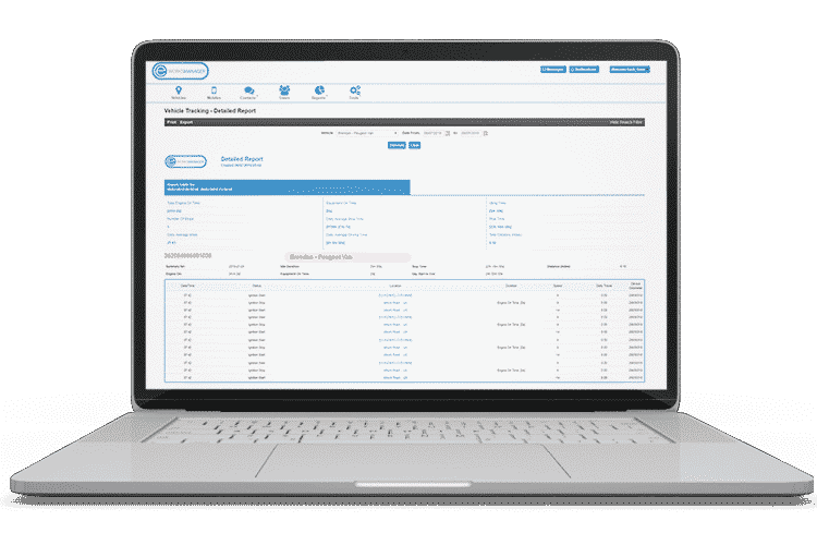 Fleet Management Software - Fleet Tracking Reports