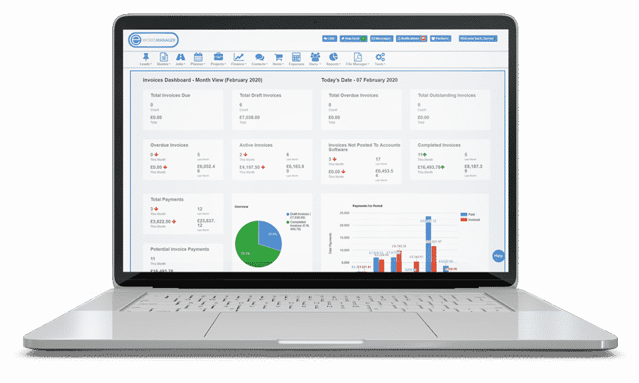 Invoice Software - Xero integration invoice dashboard