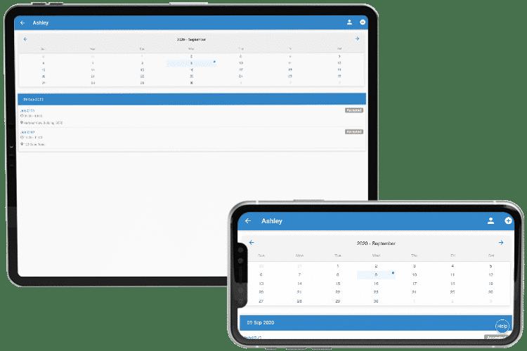 Staff Scheduling App